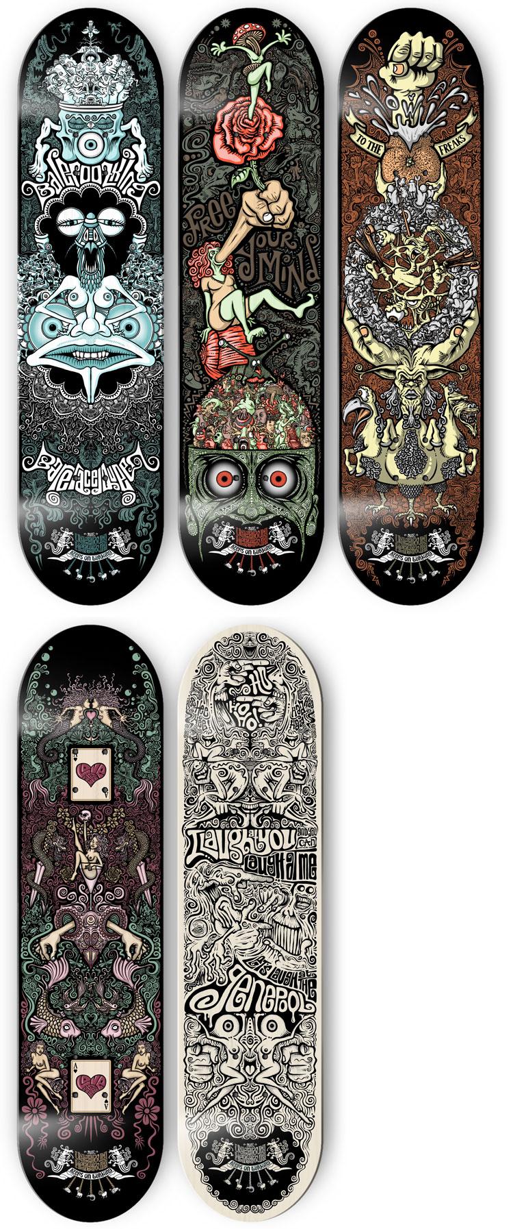 The U.M. decks